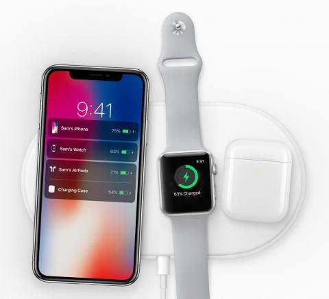 Apple's cancelled wireless charging mat, AirPower.