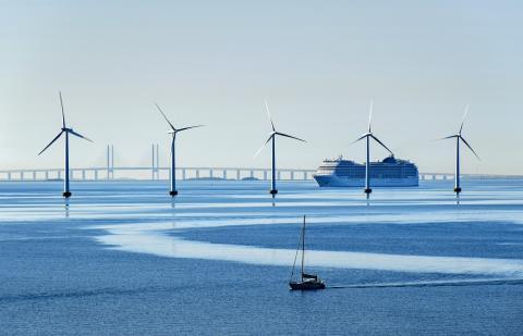 Generadores eólicos en Dinamarca