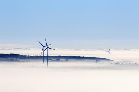 Generadores eólicos en Suecia