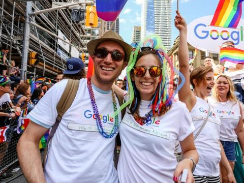 Google's parent company Alphabet topped LinkedIn's annual ranking of the most popular companies job seekers want to work for.