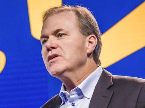 Greg Smith, vicepresidente ejecutivo de la cadena de suministro de Walmart en Estados Unidos, está utilizando la automatización para ayudar a que una de las compañías de transporte más grandes del mundo sea más eficiente