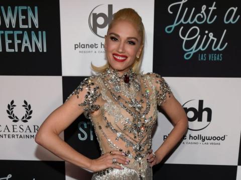 Gwen Stefani en la presentación de 'Gwen Stefani - Just a Girl' en 2018