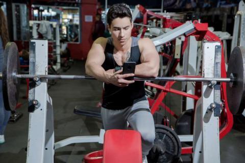 Hacer ejercicio con aplicación