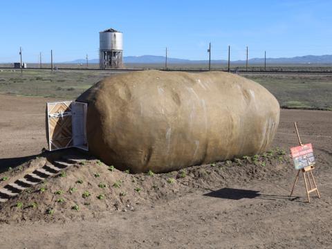 El Hotel Big Idaho Potato es rentable en Airbnb.