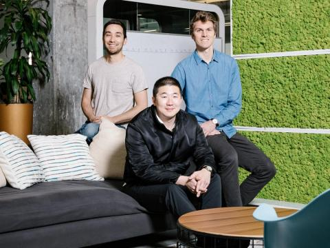 Howie Liu, Andrew Ofstad, and Emmett Nicholas, the founders of Airtable, want to let anyone build an app, even if they can't code