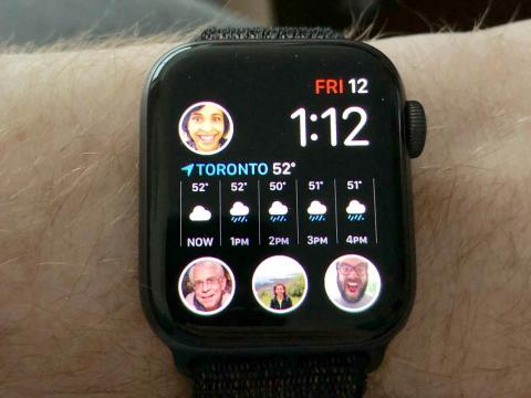20. If you own an Apple Watch Series 4, you can make people in your contacts list into complications, so you can text or call them quickly.