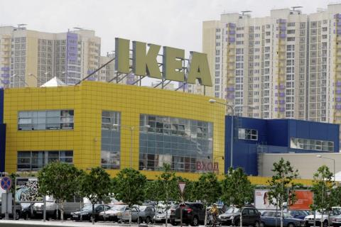 Ikea owns 20% of the Russian furniture market