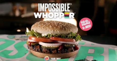 Burger king se lanza al mrecado de las hamburguesas vegetarianas