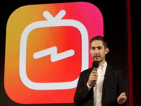 Instagram cofounder Kevin Systrom.