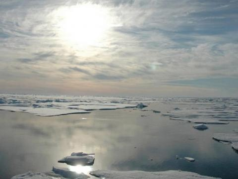Instead of focusing on clouds, some researchers are looking into ways to save melting Arctic ice. Ice sheets are responsible for reflecting lots of sunlight into space, so less ice means less heat leaving the planet.