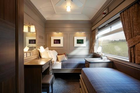 Interior habitación tren nocturno