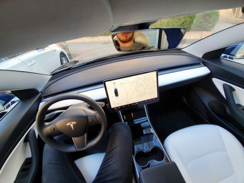 Interior del Model 3