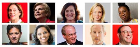 Las 10 personas que transforman nuestra forma de pensar sobre el capitalismo.