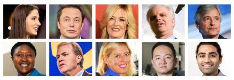 Presentando a: las 10 personas que han cambiado la movilidad en el mundo