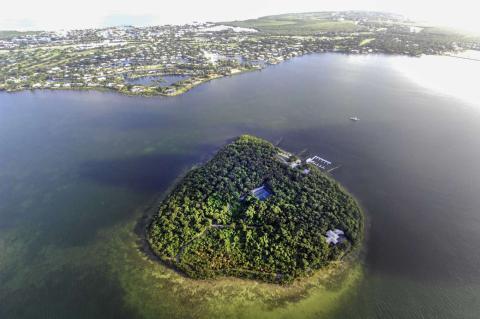 Isla privada en venta en el Amazon para millionarios