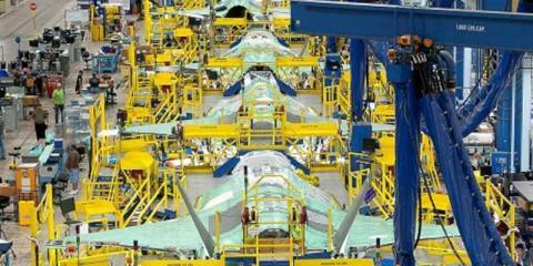 Fábrica de aviones F-35