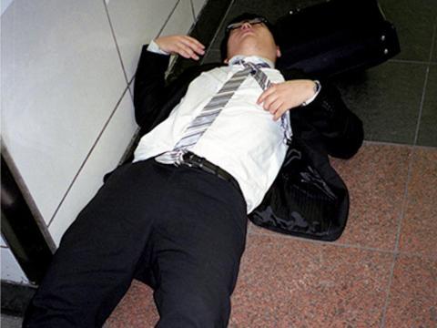 Jaszczuk dijo que los hombres de negocios dormidos son fáciles de encontrar, si sabes dónde buscarlos.