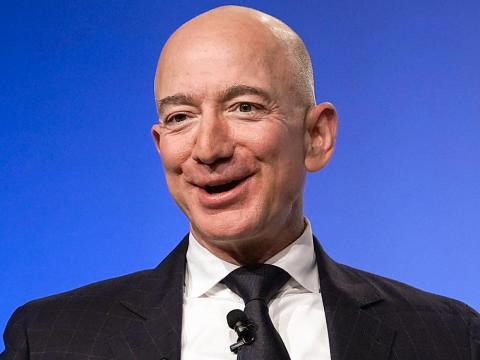 Jeff Bezos, the CEO of Amazon, is setting the tone for buying and selling goods online