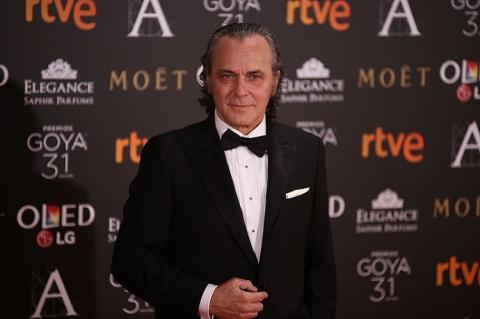 José Coronado acude a la 31 edición de los premios Goya en 2017