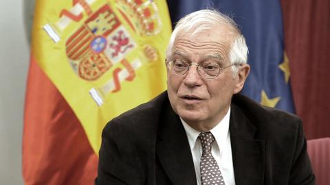 Josep Borrell, ministro de Exteriores,