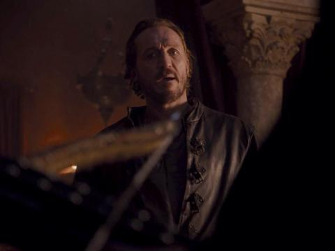 In King's Landing, Qyburn came to Bronn with a deadly proposal.