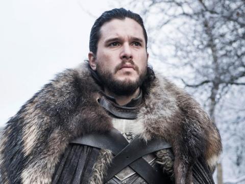 Kit Harington como Jon Nieve en Juego de Tronos.
