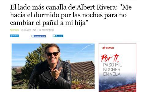 Pieza en Informalia, portal rosa de 'El Economista'.