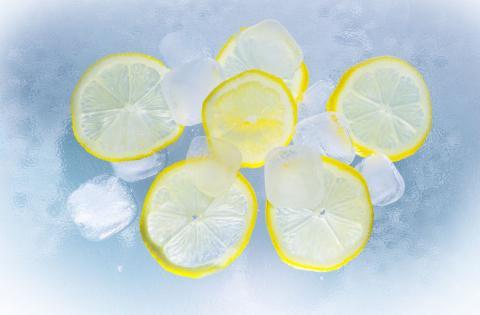 limones, hielo