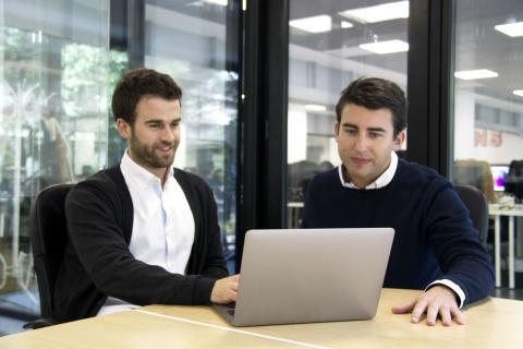 Marc Soler y Jaime Farres, fundadores de 21 buttons.