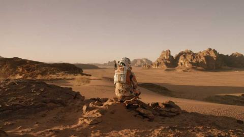 Fotograma de The Martian.
