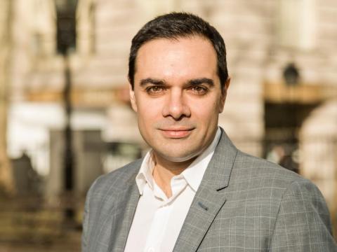Mazy Dar, fundador y CEO de OpenFin, está tratando de crear el nuevo sistema operativo de Wall Street