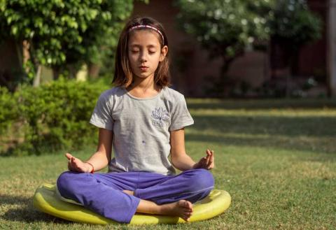 Meditación en la infancia