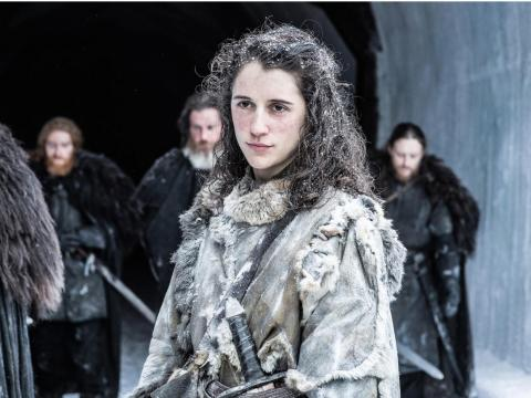 Meera said a painful goodbye to Bran on season seven.