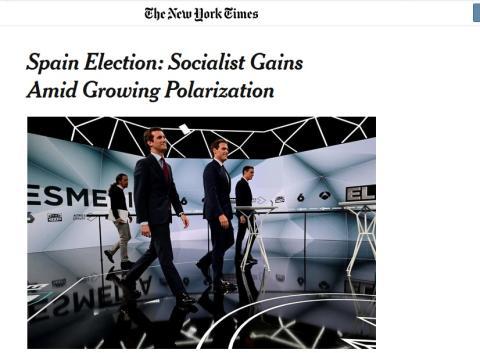 New York Times analiza la victoria socialista