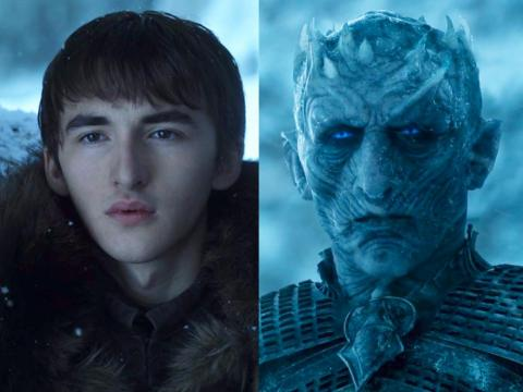 Just because they have a similar face shape doesn't mean Bran is literally the Night King.