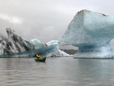 La capa de hielo de Groenlandia se está derritiendo cuatro veces más rápido que hace 16 años.