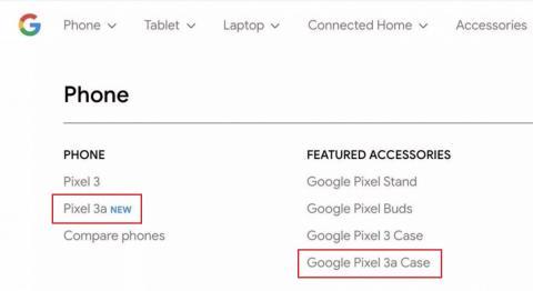 El nuevo Google Pixel 3a, el Pixel 3 barato, aparece en la tienda de Google