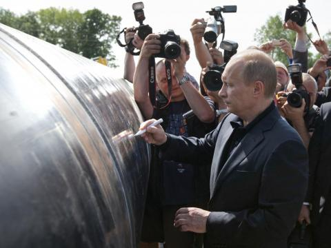 Oil and gas make up 59% of Russia's exports