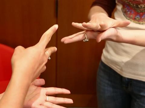 One woman was asked to convince her prospective employers why she should be hired, and she suggested a game of rock, paper, scissors