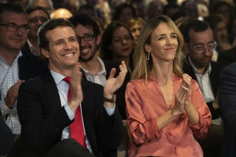 Pablo Casado y Cayetana Álvarez de Toledo.