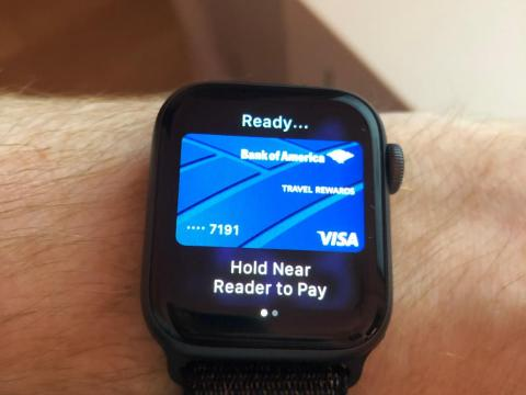 9. Paying for goods with your Apple Watch is easy, fast, and futuristic.