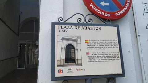Plaza de Abastos de Osuna.