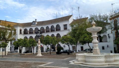 La plaza de Osuna.