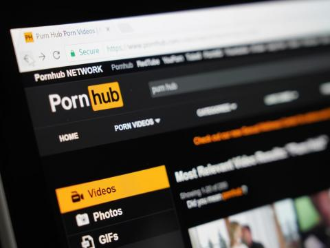 The pornography site Pornhub is one of the most visited websites in the US.