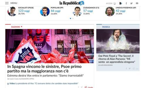 Reppublica destaca el resultado de las Elecciones Generales