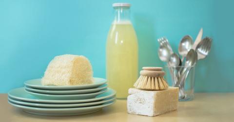 Residuo Cero: fregar los platos