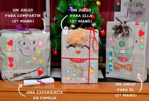 Cuando los Reyes Magos pasan por casa de Yurena González no se olvidan de que es una casa zero waste.