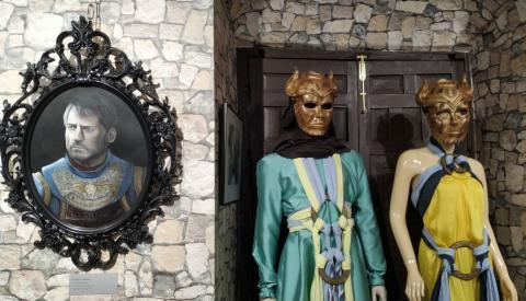 Retratos y trajes de Juego de Tronos en el museo de Osuna.