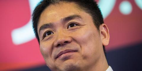 Richard Liu, CEO of Chinese ecommerce giant JD.com.