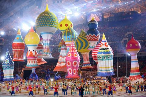 Russia spent $50 billion on the 2014 Winter Olympics